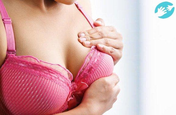 фото у девки набухли груди